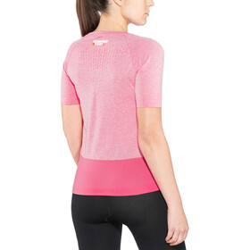 Compressport Training - Camiseta Running Mujer - rosa